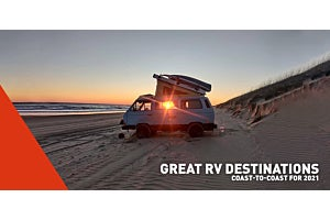 Great RV Destinations Coast-to-Coast for 2021 | Lippert