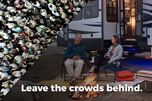 Go RVing While Social Distancing