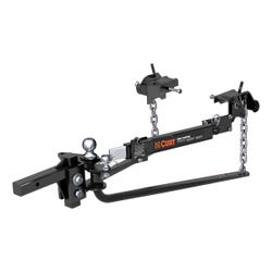 Round Bar Weight Distribution Hitch with Lubrication, Sway Control (8-10K)