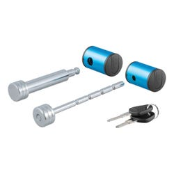 """Right-Angle Hitch & Coupler Lock Set (2"""" Receiver, 1"""" to 3"""" Latch)"""