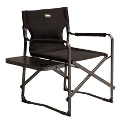 Solera™ Camping Chair with Side Table - Black