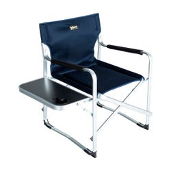Solera™ Camping Chair with Side Table - Navy