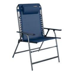 All-Weather Mesh Bungee XL Deck Chair - Navy