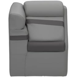 """20"""" Left Chaise with Privacy Station - Various Colors"""