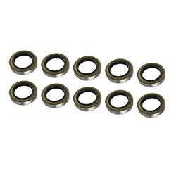 """2.25"""" (ID) Double Lip Grease Seal - 10 Pack"""