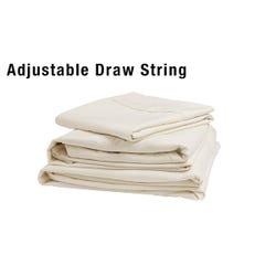 Adjustable Bunk Sheet Set Ivory