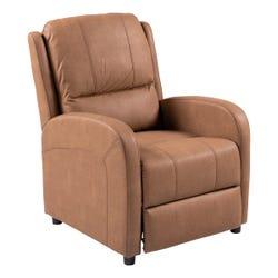 Pushback Recliner - Oxford Tan