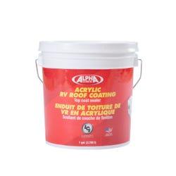 4034 Acrylic RV Roof Coating, White (1 Gallon)