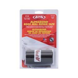 "ALPHABOND TPO Tape 4"" x 10' Repair Tape, Black"