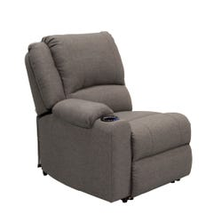 Right Hand Recliner - Seismic Series (Dunes Grey)