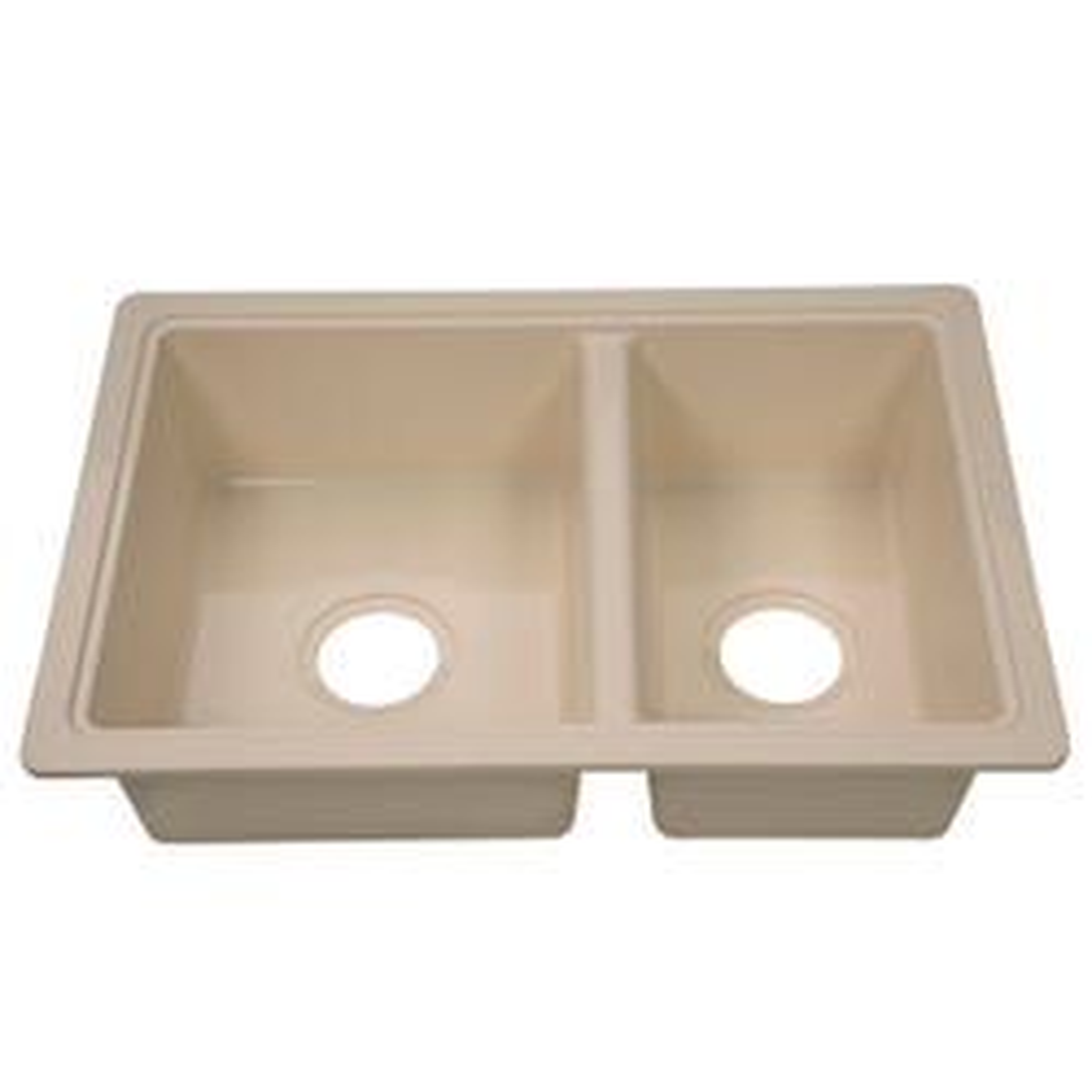 """Double Kitchen/Galley Sink; 25"""" x 17"""" x 6.6"""""""