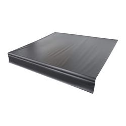 Universal Vinyl Fabric for 20' Patio Awning - Solid Black
