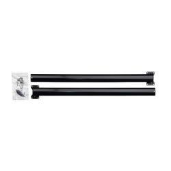 """XL Window Awning Hardware Kit - 30"""" (Black)"""