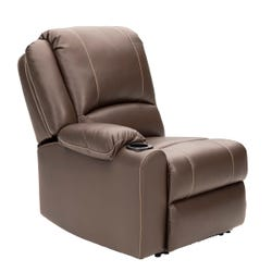 Right Hand Recliner - Seismic Series (Majestic Chocolate)