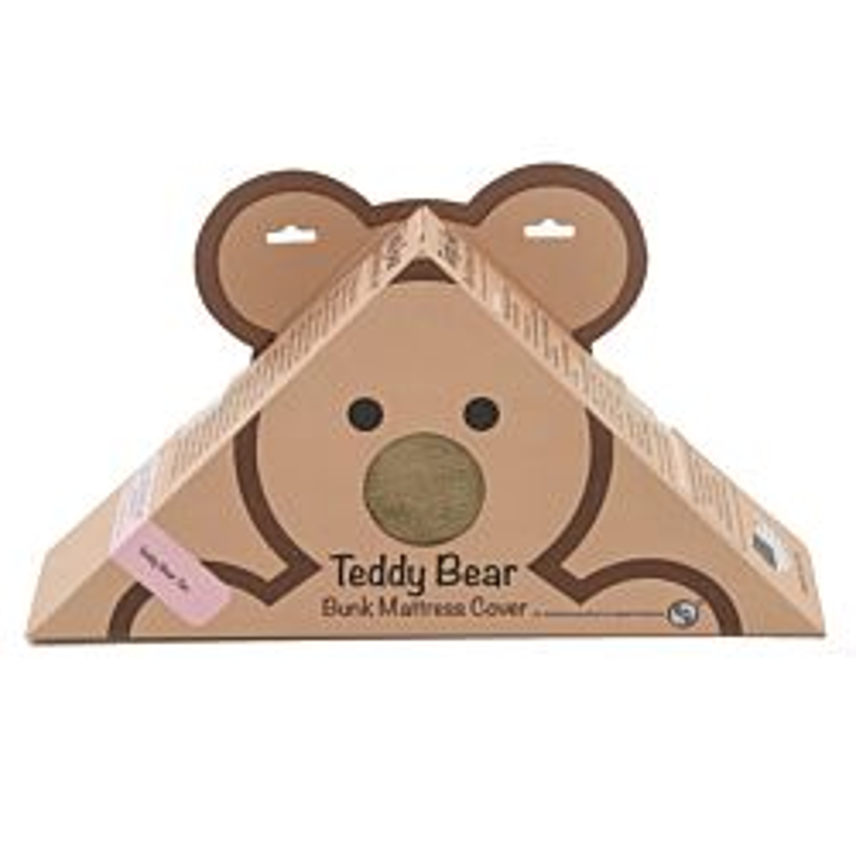 "32"" x 74"" x 4"" - Tan Teddy Bear Bunk Mat Cover"