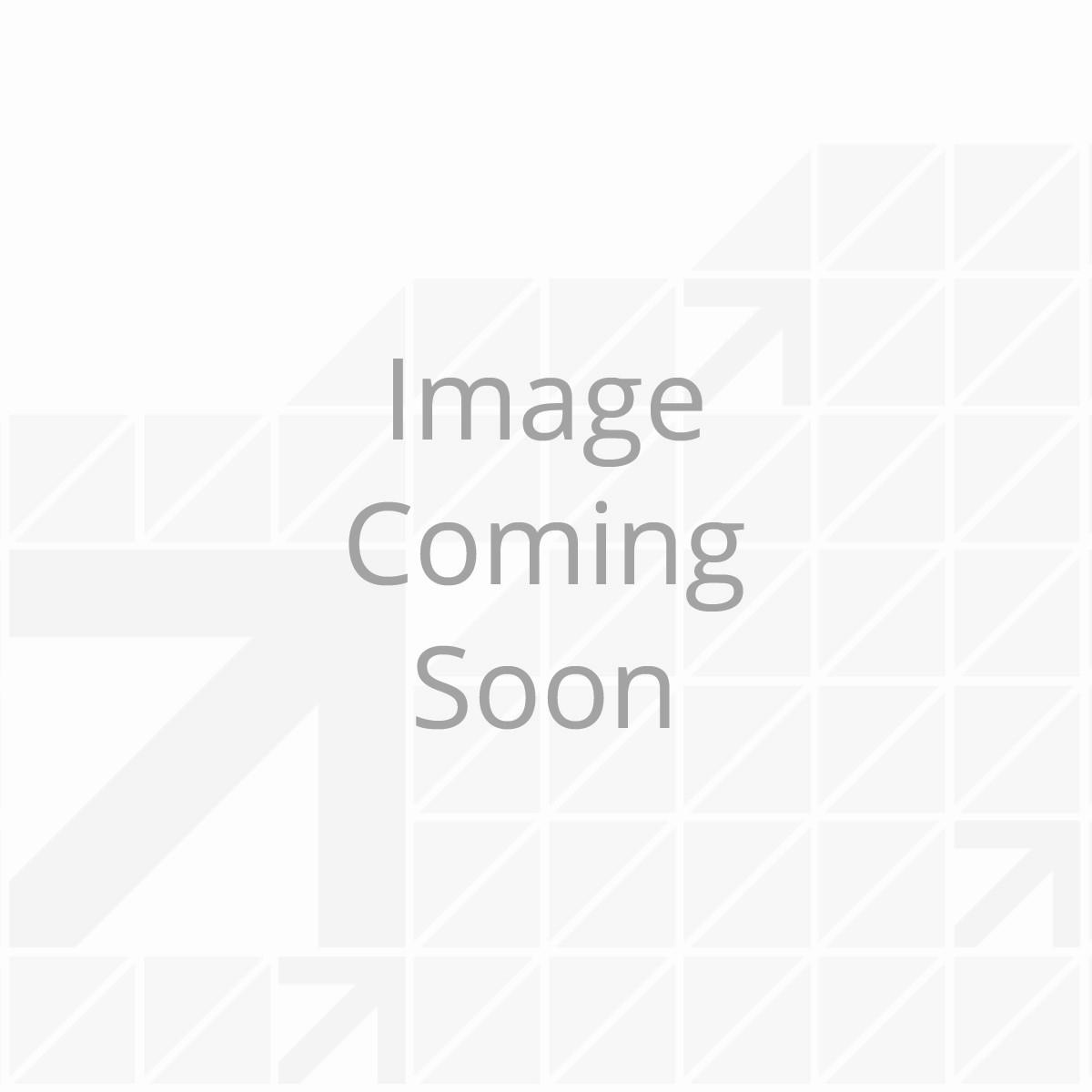 Awning J-Rail; 8' - White (5 Pk Bundle)