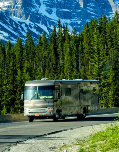 Larger Motorhomes